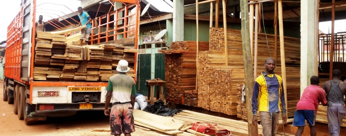 Overland timber trade guidelines for its regulation